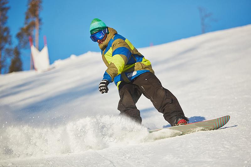 New Hampshire snowboarder