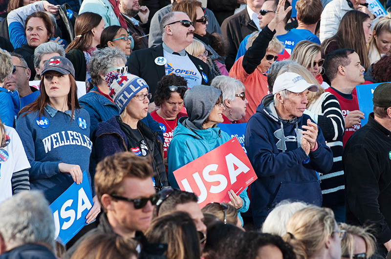 Crowd at a NH Rally
